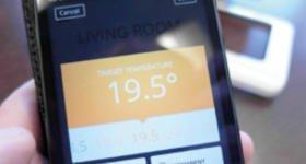Heating temperature app