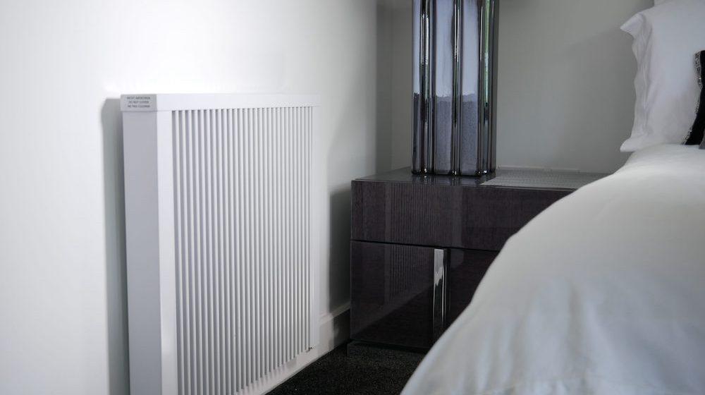 Close up of radiator