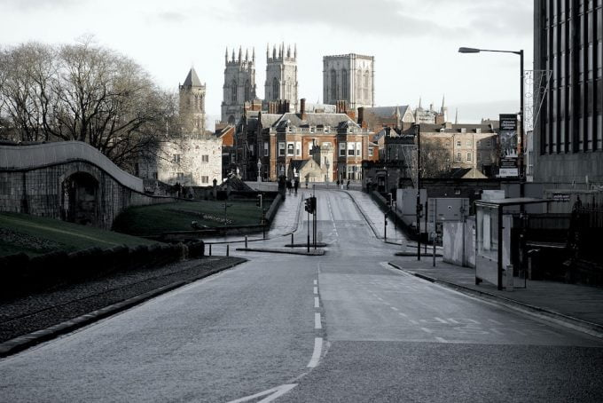 York view of minster